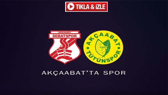 Dünden bugüne Akçaabat'ta Spor (Akçaabat Sebatspor – Tütünspor)