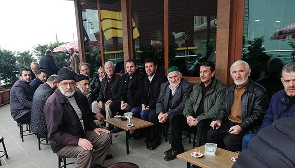 SAADET PARTİSİNDEN MAHALLE ZİYARETİ