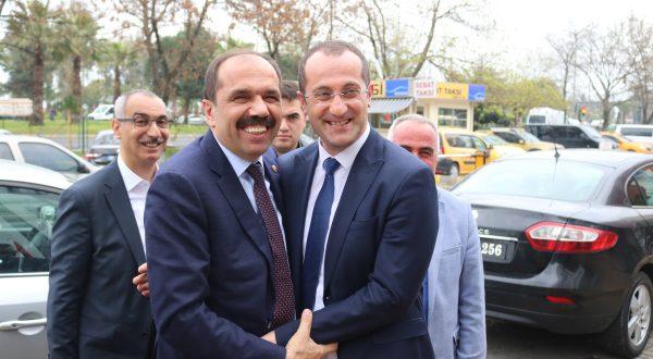 BALTA'DAN EKİM'E TEBRİK ZİYARETİ