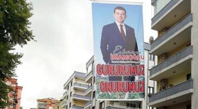 AKÇAABAT'TA PANKART KRİZİ!