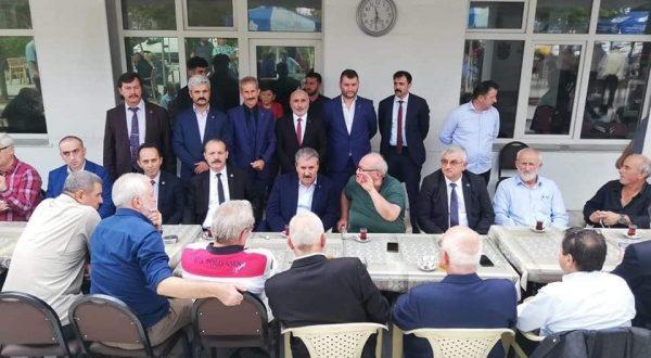 MUSTAFA DESTİCİ AKÇAABAT'A GELDİ
