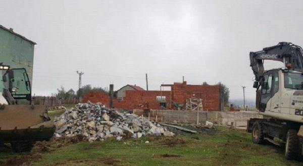 Trabzon'da İzinsiz İnşa Edilen 160 Yapı Yıkıldı