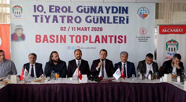 TİYATRO FESTİVALİ İÇİN BASIN TOPLANTISI YAPILDI