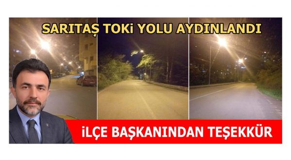 AK PARTİ İLÇE BAŞKANI ALTINTEPE'DEN TEŞEKKÜR