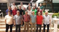 Akçaabat Sebatspor'un Efsane Futbolcuları Yemekte Bir Araya Geldi