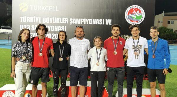 Akçaabatlı Beyzanur Yavuz Türkiye Şampiyonu Oldu!