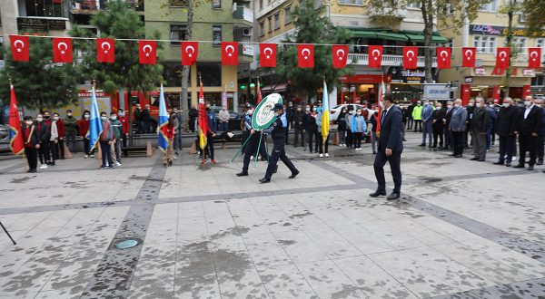 Akçaabat'ta 10 Kasım Atatürk'ü Anma Töreni Düzenlendi