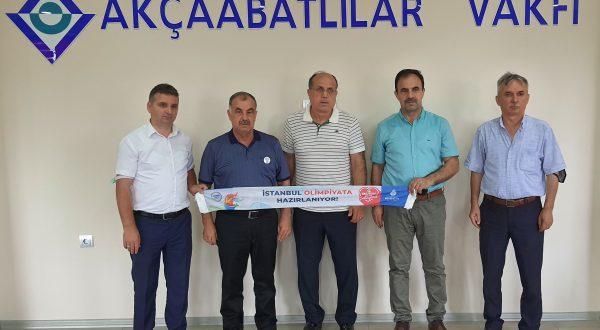 AKÇAABATLILAR VAKFI OSMAN KALYONCU'YU ONORE ETTİ!